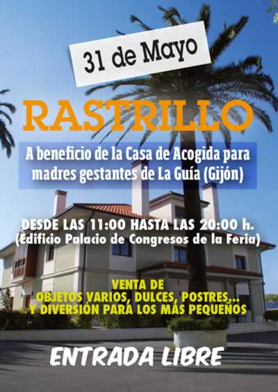 #Asturias con niños: Rastrillo a favor de las madres gestantes en Gijón